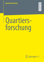 Quartiersforschung Springer Verlag